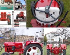 Traktor McCormick Farmall International D-439 1965