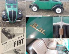 Fiat 500 Topolino 1938