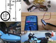 Naprawa kondensatora MZ ETZ 250
