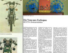 MotorJahr DDR 1981 MZ ETZ 250