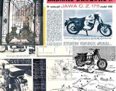 Badanie drogowe CZ Cezet 175 model 450