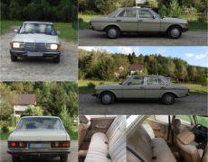 Mercedes 123 1978