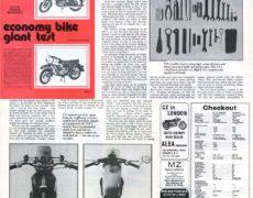 Test motocykli CZ 175 vs MZ ES 250/2 Trophy