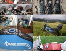 Oldschool tankpad krawat zbiornika motocyklowego